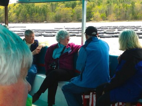 Maine boat tour, Visit oyster farms Maine, Seal Watching, Damariscotta River oysters, Maine Bird watching tour,
