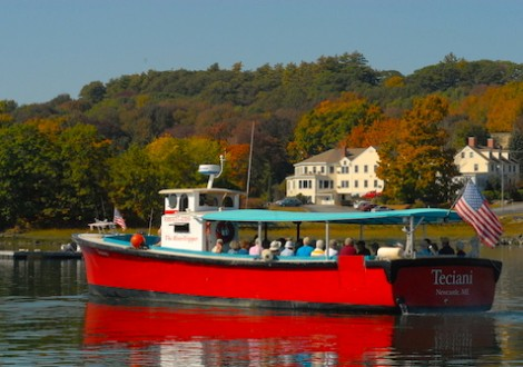 Oyster Farms and Fall River Cruise on Damariscotta River Cruises
