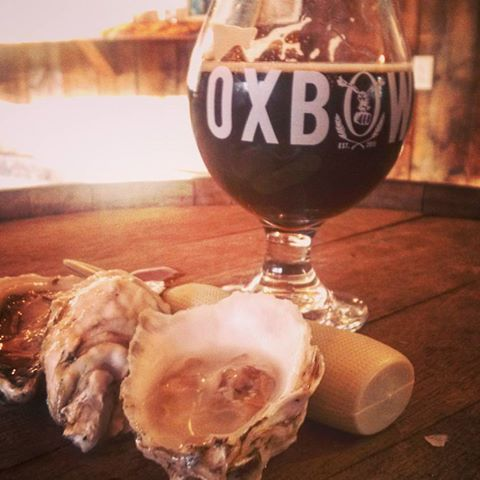 Beer and Oyster tasting on Damariscotta River Cruises